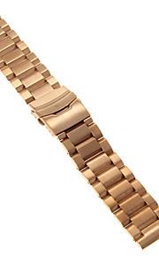 Masculino / Feminino Pulseiras de Relógio Aço Inoxidável #(0.09) #(24 x 2.4 x 0.3)