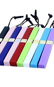 beknopte touch screen stylus pen met 3,5 mm anti-stof plug en standfor iPad en anderen (verschillende kleuren)