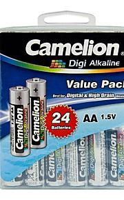 camelion digi alkaline AA batterij in de verpakking doos van 24 stuks