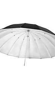 Jinbei 150cm studie sort og sølv reflektor paraply