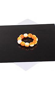 Tianrui 30 * 30cm reflektor til smykker (hvid / sorte farver)