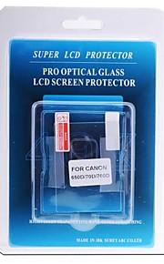protetor de tela LCD profissional de vidro óptico especial para canon câmera 650D / 70d / 700d dslr