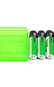 4pcs soshine aaa 1100mah 1.2v Ni-MH oplaadbare batterij + doos