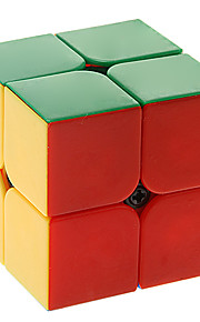 Qiyi heimanba 2x2x2 colorido cubo mágico stickerless
