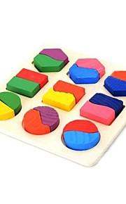 geometrisk figur træ uddannelse legetøj til børn