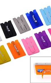 Touch-C 10 Colors Universal Mobile Phone Holder And card slot Two-in-one