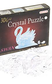 44pcs krystal svane puslespil