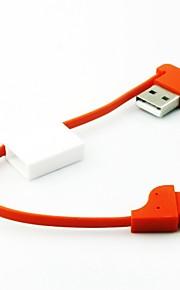 avaimenperä tyyli kannettava Micro USB datakaapeli Samsung ja muut puhelimet (valikoituja väriä)