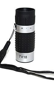 7x 18 milímetros golf telescópio monocular portátil