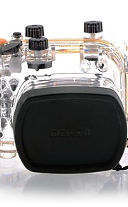 MEIKON EG-1 Waterproof Camera Case 40m/130ft for Canon EOS G11/12