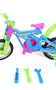 samle plastik cykel legetøj