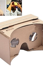 DIY Google Cardboard Virtual Reality 3D Glasses for iPhone 5s / Samsung Galaxy S4 mini / S3 mini / Nokia / LG / MOTO