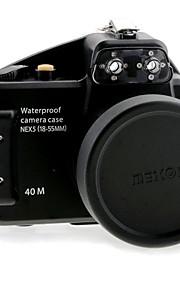 MEIKON N-5 Waterproof Camera Case for Sony Nex 5 nex-5 18-55mm Lens