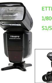 triopo tr-982ii c E-TTL sync master / slave alta velocidade 1 / 8000s flash Speedlite para canon câmera DSLR