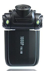 "2.0"" LCD 5.0 MP Wide Angle 4X 1080P Zoom Digital Car DVR Camcorder with Mini USB/HDMI/TF Card - Black"