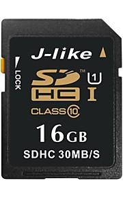 j-like® SDXC UHS-i sd cartão de memória de 16GB class10 30MB / s
