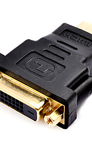 0.1M 0.328FT DVI Male to HDMI Female High Quailty Gold-Plate HD HDMI V1.4 Computer Connection Adapter