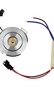 1W Taklys Innfelt retropassform 1 Høyeffekts-LED 110 lm Varm hvit Dekorativ AC 85-265 V