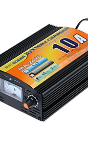 Suoer MA-2410A Intelligent 4-stage 10A AC 220V to DC 24V Car Lead-acid Battery Charger