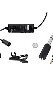 Lavalier-Revers Clip omnidirektionales Mikrofon für Kameras Camcorder&Smartphones (iPhone iPad Samsung Galaxy&hinweis)