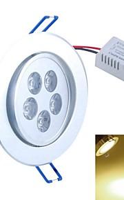5 W- Innfellt Retrofit - Taklamper (Warm White , Dekorativ) 500-550 lm- AC 85-265