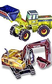 3d diy kreativ shop Lastbil build indsamle pædagogiske kit puslespil legetøj puslespil spil for børn børn