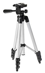 ismartdigi ir-130-SL 4-sektion kamera stativ (sølv + sort)