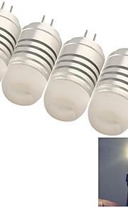 youoklight® de la g4 4w 8 * SMD3014 120lm blanc ampoules de maïs chaudes / froides (ac / DC12V)