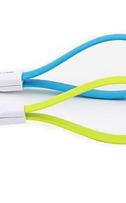 삼성 갤럭시 S3 S4 주 2 i9500 안드로이드 전화에 대한 충전 케이블 22cm 보편적 인 USB / 마이크로 USB
