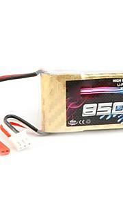 neewer® YKS 7.4V 850mAh 20c lithium batteri til RC fjernbetjening flyvemaskine rejser model