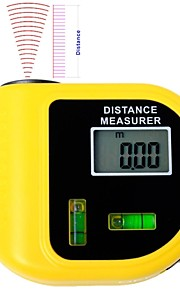 Electronic Laser Distance Meter Tester with LCD Digital Screen  (Range: 2~60ft,+/-5%)