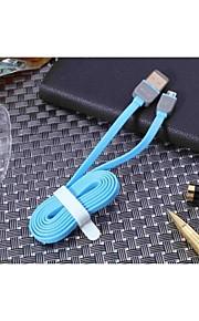 삼성 1 케이블 USB 다기능 이중 시스템의 HJT / 2 (모듬 색상)