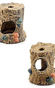 Sunsun Ceramic Shrimp House Decoration for Fish Tank