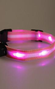 Kaulapannat - Nailon - LED valot - Punainen / Sininen / Pinkki - Koirat / Kissat -