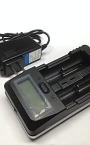 TrustFire tr-011 carregador de bateria lnteligent + carro carregador digital de modo de carregamento de tensão charging.constant misturado