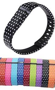substituição de borracha TPU pequeno e grande banda tamanho do pulso para Fitbit Flex dispositivos pulseira inteligentes