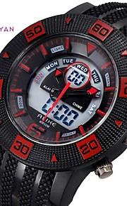Relógio Esportivo (LED/Calendário/Resistente à Água) - Analógico-Digital - Quartz