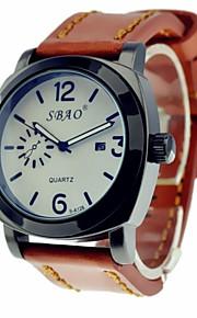Relógio Esportivo (Calendário/Resistente à Água) - Analógico - Quartz