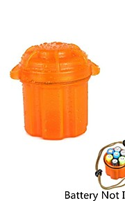 Water-Resistant Drop Protection Storage Box Case Container for Chips / Batteries / Gadgets - Orange