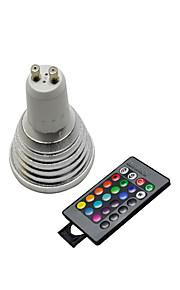 GU10 - 5 Spotlights ( RGB , Remote-kontrolleret )