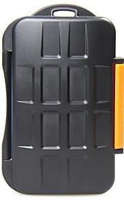 JJC mc-4 opbevaring patron velegnet til 4 CF-kort eller 8 MSD kort / xD-kort