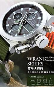 Relógio Esportivo (LED/Calendário/Cronógrafo/Resistente à Água) - Analógico-Digital - Quartz