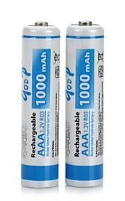Ni-MH - Aaa - Batterij - 1000 - ( mAh ) - 2 - pcs