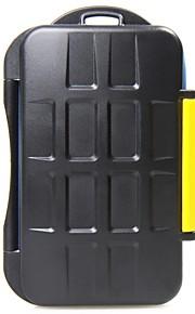 JJC mc-3 opbevaring patron velegnet til 4 CF / SD-kort / XD-kort / hukommelseskort