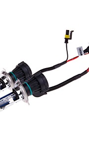H4 35W 3200lm 6000K White Light Car HID Xenon Lamp Bulbs  (2 PCS)