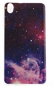 HTC Desire 816 - TPU - 뒷면 커버 - 그래픽/특별 디자인/투명 - 케이스 커버