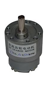12v dc 120rpm mini-caixa de velocidades 12v motor elétrico dc 37 milímetros alto torque