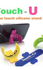 cellulare smartphone telefono tocco u digitare silicone supporto del basamento per iphone per Samsung