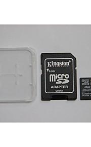 kingston digital de 4 GB classe 4 micro sd SDHC e cartão de memória e caixa de adaptador do cartão de memória