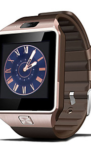 Tecnologia Vestível - Relógio inteligente DZ09 - Bluetooth 4.0 -Chamadas com Mão Livre/Controle de Mídia/Controle de Mensagens/Controle